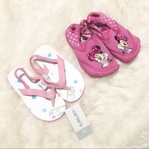 Bundle! Toddler Girls Summer Sandals/Water Shoes